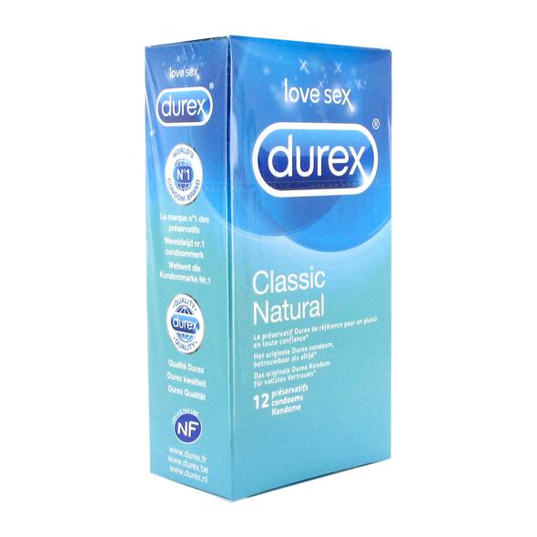 E20301 - Durex Naravni kondomi 12kom