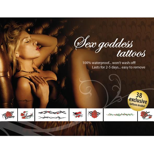 E21258 - Tattoo Set - Sex Goddes