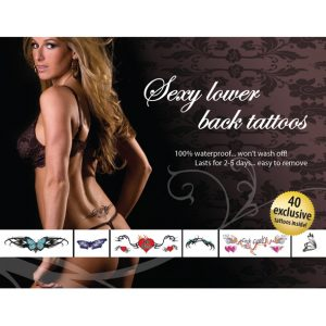 E21259 300x300 - Tattoo Set  - Sexy Lower Back