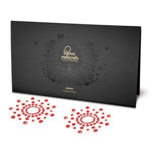E21763 300x300 - Bijoux Indiscrets - Mi Mi - Rdeč nakit za bradavičke