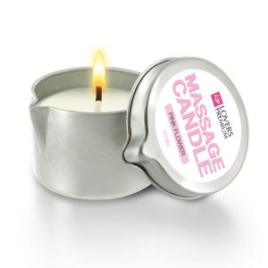 E22038 300x300 - LOVERSPREMIUM - masažna sveča PINK FLOWER 4-v-1