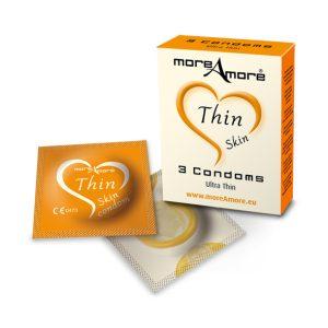 E22207 300x300 - MoreAmore - Condom Thin Skin 3 pcs