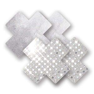 E22676 300x300 - Nippies - okraski za bradavičke Solid Studio Silver Cross