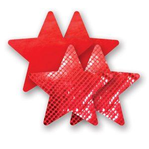 E22678 300x300 - Nippies - okraski za bradavičke Solid Moulin Rouge Star
