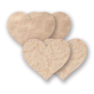 E22682 300x300 - Nippies - Basic Creme Heart