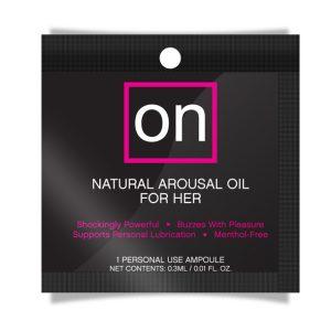 E23232 300x300 - Sensuva - ON Arousel Oil za njo Original Ampoule 0,3 ml