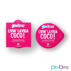E23676 300x300 - PicoBong - Coconut & Vanilla Masažno olje Candle