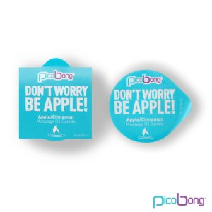 E23677 300x300 - PicoBong - Apple & Cinnamon Masažno olje Candle