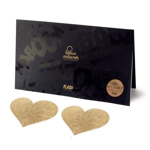 E24402 300x300 - Bijoux Indiscrets - Flash Heart Gold