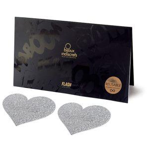 E24405 300x300 - Bijoux Indiscrets - Flash Heart Silver