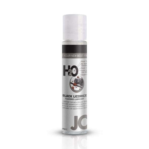 E25352 - System JO - H2O lubrikant črna Licorice 30 ml