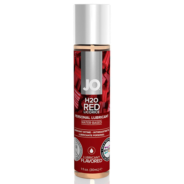 E25353 - System JO - H2O lubrikant Red Licorice 30 ml