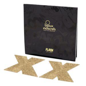 E26086 300x300 - Bijoux Indiscrets - Flash Cross Gold