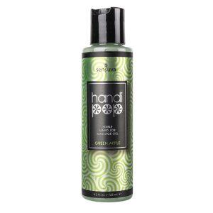 E27473 300x300 - Sensuva - Handipop Green Apple Hand Job Massage Gel 125 ml