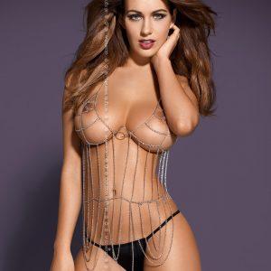 5901688201411 300x300 - Gogo erotični set Punker Top & string tangice