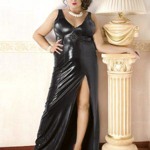 5901885305226 300x300 - Obleka wetlook M / 1003 črna od Andalea