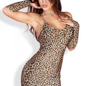 5902010004144 300x300 - Mini obleka  CR3156 leopard