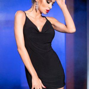 5902018030459 300x300 - Mini obleka  CR4239 črna
