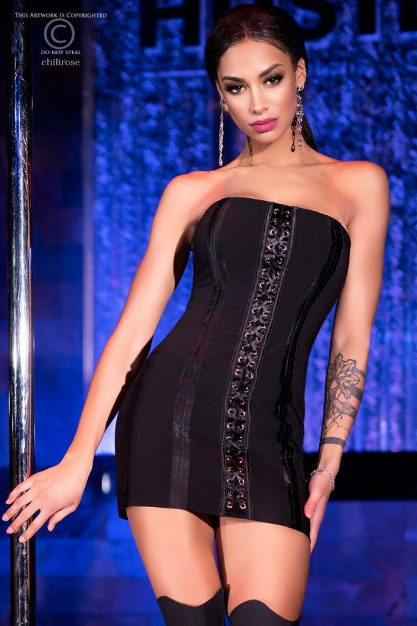 5902019031899 600x900 - Mini obleka seksi CR4301 črna