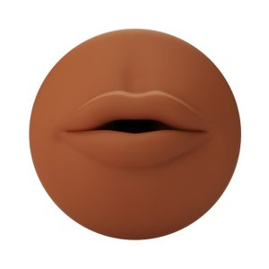 E24097 300x300 - Autoblow - A.I. Silicone Mouth Sleeve Brown