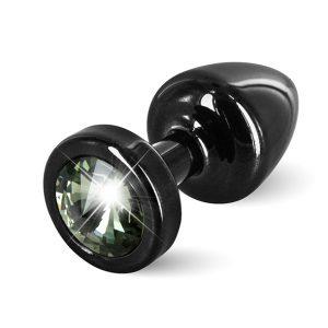 E26667 300x300 - Diogol - Anni Butt Plug Round 25 mm Black & Black