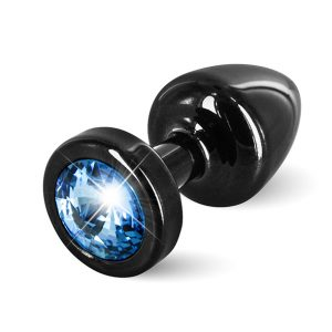 E26669 300x300 - Diogol - Anni Butt Plug Round 25 mm Black & Blue