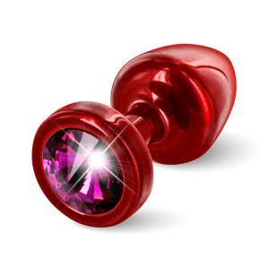 E26671 300x300 - Diogol - Anni Butt Plug Round 25 mm Red & Pink