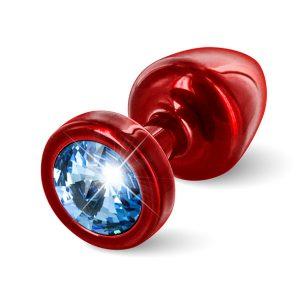 E26672 300x300 - Diogol - Anni Butt Plug Round 25 mm Red & Blue