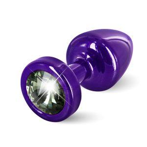 E26673 300x300 - Diogol - Anni Butt Plug Round 25 mm Purple & Black