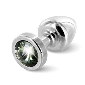 E26679 300x300 - Diogol - Anni Butt Plug Round 25 mm Silver & Black