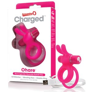 E27285 300x300 - The Screaming O - Charged Ohare Rabbit Vibe Pink