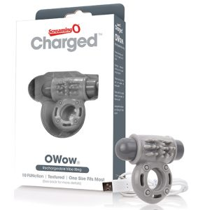 E27291 300x300 - The Screaming O - Charged OWow Vibe Ring Grey