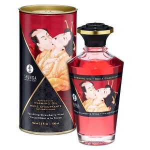 E27673 300x300 - Shunga - Aphrodisiac toplotno olje Sparkling Strawberry Wine 100 ml