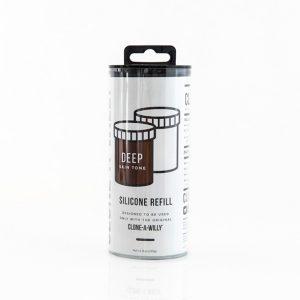 E27722 300x300 - Clone-A-Willy - Refill Deep Skin Tone Silicone