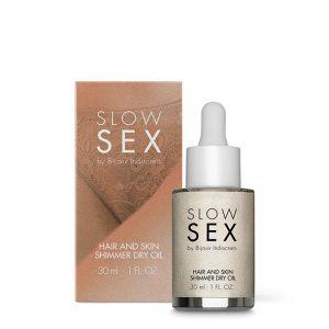 E28320 300x300 - Bijoux Indiscrets - Slow Sex Hair & Skin Shimmer Dry Oil