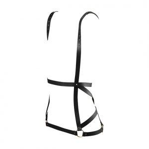 E28696 300x300 - Bijoux Indiscrets - Maze Arrow Dress Harness Black