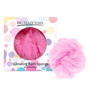 E29024 300x300 - Big Teaze Toys - Bath Sponge vibracijski Pink