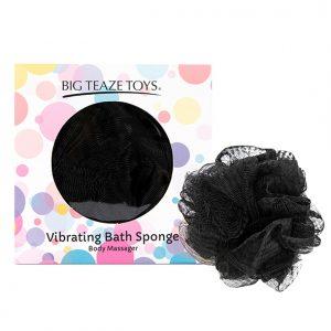 E29027 300x300 - Big Teaze Toys - Bath Sponge vibracijski črna