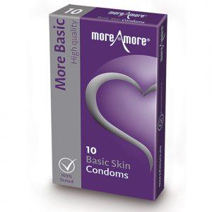 E29093 300x300 - MoreAmore - kondom Basic Skin 10 kom